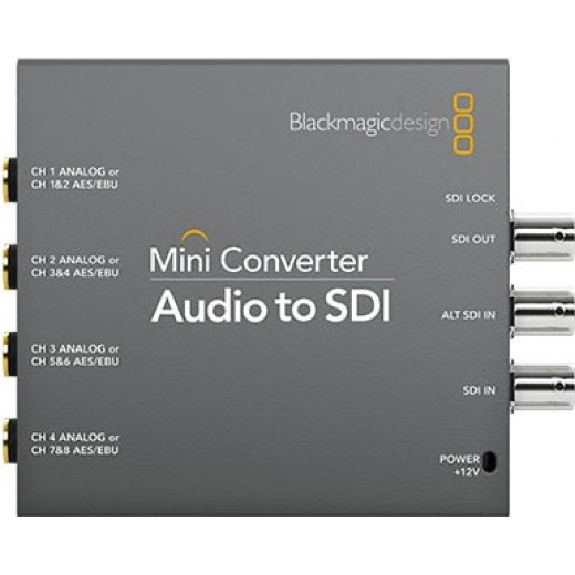 کانورتور بلک مجیک Blackmagic Design Mini Converter Audio to SDI
