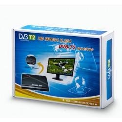 گیرنده دیجیتال مانیتور و تلویزیون DVB-T2 TV Box VGA-AV-HDMI