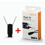 گیرنده دیجیتال اندروید + آنتن رومیزی MyGica Pad TV PT115
